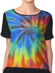 i love tie dye Chiffon Top