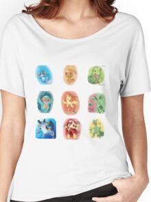 Hoenn Starters Women's Relaxed Fit T-Shirt