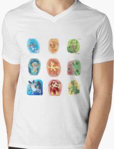 Hoenn Starters Mens V-Neck T-Shirt