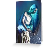 Sidereal Magic Greeting Card