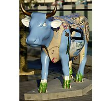 Cow Parade - Shirt Factory Horn, Derry Photographic Print
