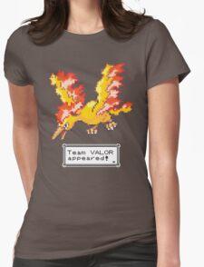 Pokemon Go - Team Valor Sprite Design Womens Fitted T-Shirt
