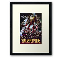 Army of Grimlock Framed Print