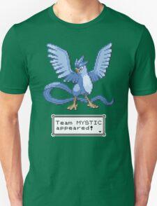 Pokemon Go - Team Mystic Sprite Design Unisex T-Shirt