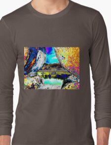 View through the wall Long Sleeve T-Shirt
