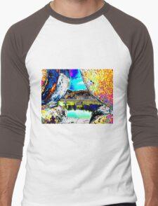 View through the wall Men's Baseball ¾ T-Shirt