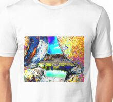 View through the wall Unisex T-Shirt