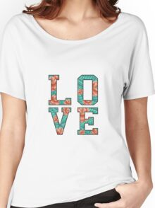 LOVE ROSE  Women's Relaxed Fit T-Shirt