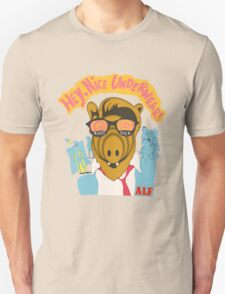 Lord help us, he's back in his pink Alf shirt Unisex T-Shirt
