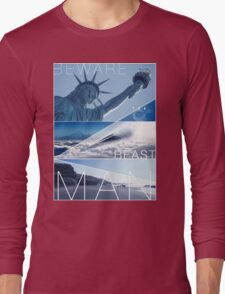 Planet of the Apes - Beware the Beast Man Long Sleeve T-Shirt