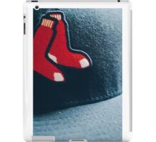 For the red sox fans iPad Case/Skin