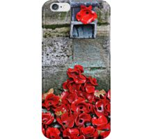 Clay Poppies, Tower of London iPhone Case/Skin