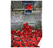 Clay Poppies, Tower of London Poster