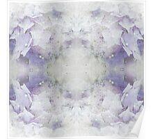 Soft Blue Hydrangea Dream Poster