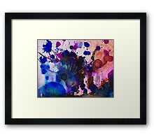 Pen and Ink Drawing Framed Print