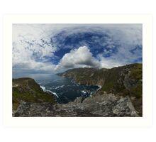 Bunglas - Highest Sea Cliffs in Europe? Art Print