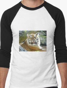 A Tiger smiles for you Men's Baseball ¾ T-Shirt