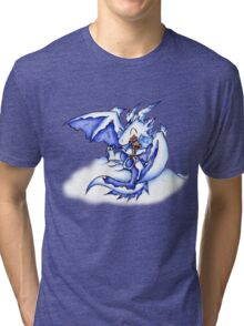 Ice Dragon Ice Cream Bliss Tri-blend T-Shirt