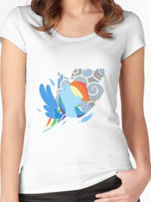 Dashie Women's Fitted Scoop T-Shirt