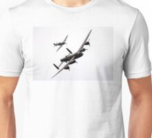 BBMF Spitfire and Lancaster Unisex T-Shirt