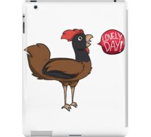 Lovely Day! - Chicken iPad Case/Skin