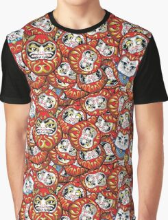 Daruma Daruma All Over Print Graphic T-Shirt