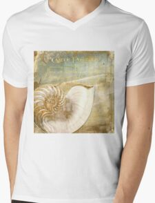 Golden Sea I Mens V-Neck T-Shirt