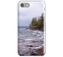Waves of Lake Superior iPhone Case/Skin