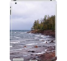 Waves of Lake Superior iPad Case/Skin