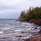 Waves of Lake Superior by perkinsdesigns