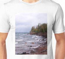 Waves of Lake Superior Unisex T-Shirt