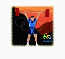 Olympic Weightlifter Rio 2016 Unisex T-Shirt