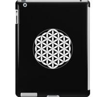 Flower Of Life - White iPad Case/Skin