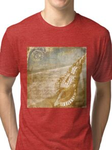 Golden Sea II Tri-blend T-Shirt