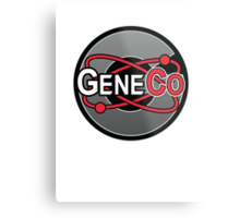 Repo! GeneCo Logo Metal Print