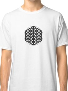 Flower Of Life - Black Classic T-Shirt