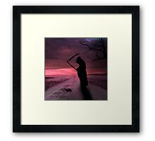 Last Sleep Framed Print