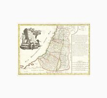 Vintage Map of Israel (1770) Unisex T-Shirt