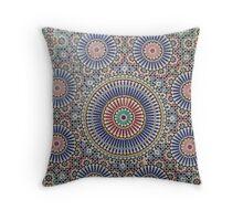 Moroccan tiles 2 Throw Pillow