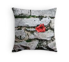Tower of London Poppy artists exhibition... Throw Pillow