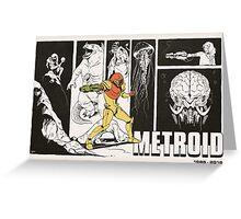 Metroid: 30 Years Greeting Card