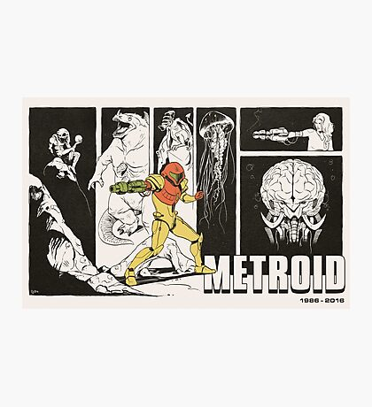 Metroid: 30 Years Photographic Print