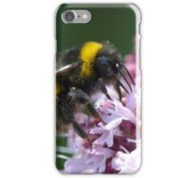 White Tailed Worker Bumble Bee iPhone Case/Skin