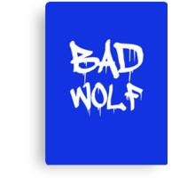 Bad Wolf [No FX] Canvas Print