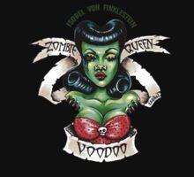 Zombie Voodoo Queen Kids Tee