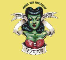 Zombie Voodoo Queen Kids Clothes