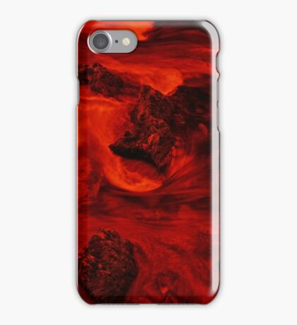 Lava River - Infra Red Long Exposure iPhone Case/Skin