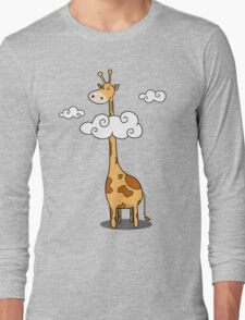 A giraffe Long Sleeve T-Shirt