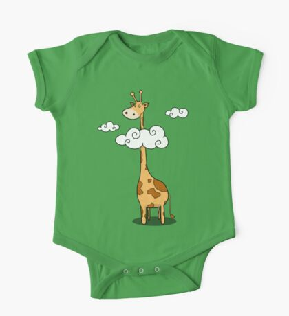 A giraffe One Piece - Short Sleeve