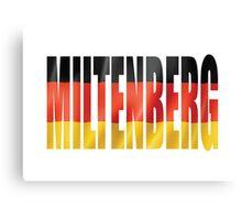 Miltenberg. Canvas Print